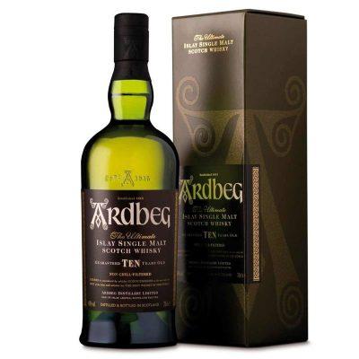 Ardberg 10 Ani Plus Pahare