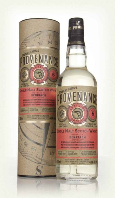 Douglas Laing Provenance BENRIACH 6 YO ( 2010)