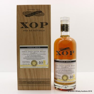 Douglas Laing XOP CAMERONBRIDGE 40 YO 1978 Single Grain