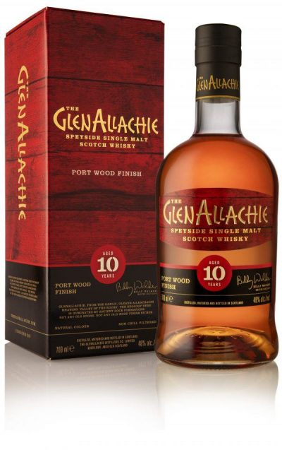Glenallachie 10Y Port Wood Finish