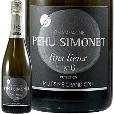 Champagne Pehu Simonet 'Fins Lieux #6 Les Basses Correttes Verzenay' Blanc de Blancs Extra Brut 2013
